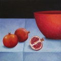 Pomegranates and Bowl